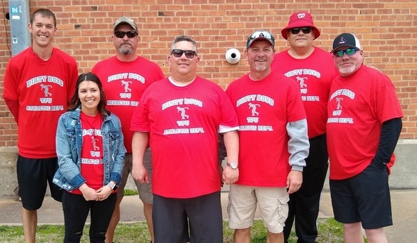 Dirty Boys Cornhole Teams T-Shirt Photo