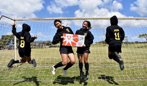 Calvary Soccer Hawaiian Style T-Shirt Photo