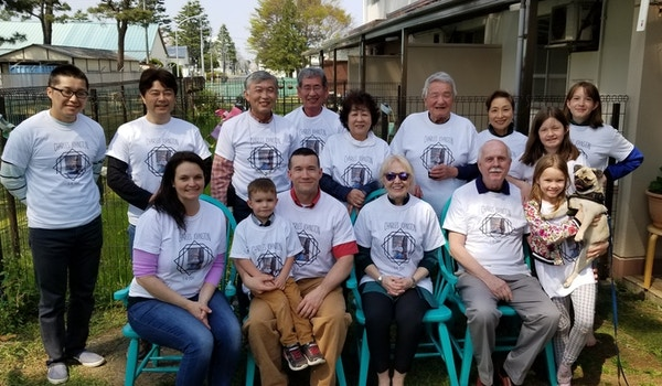 A Birthday In Japan  T-Shirt Photo
