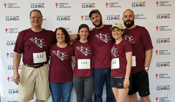 2019 Fight For Air Climb T-Shirt Photo