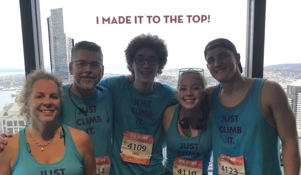 We Climbed It!! T-Shirt Photo