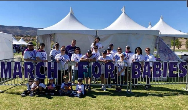 Walking For Omar At March For Babies 2019 T-Shirt Photo