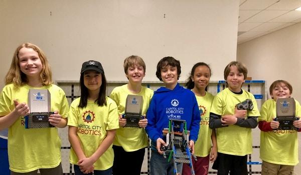 Capitol City Robotics Champions! T-Shirt Photo