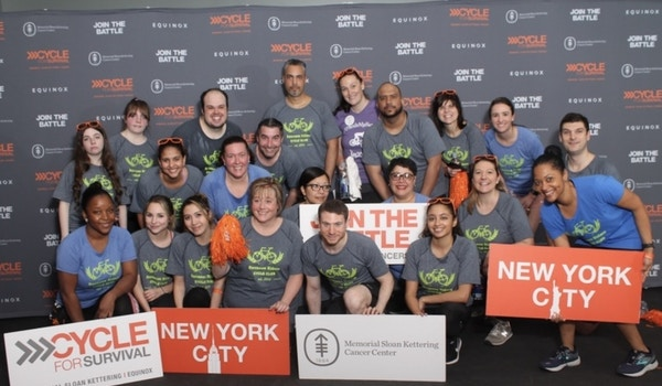 Cycle For Survival 2019 T-Shirt Photo