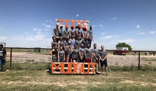 "2019 Texas Warrior Mudout Team ""The Claw"" T-Shirt Photo"