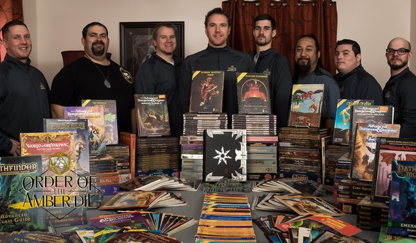 Established 1987: The World's First Professional Roleplaying Group! T-Shirt Photo