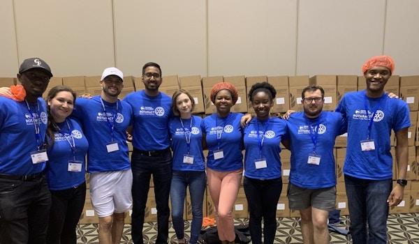 Rotaract Club Of Georgia Southern University T-Shirt Photo