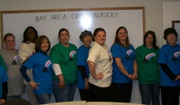 Bay Area Crisis Nursery Staff Get A New Look T-Shirt Photo