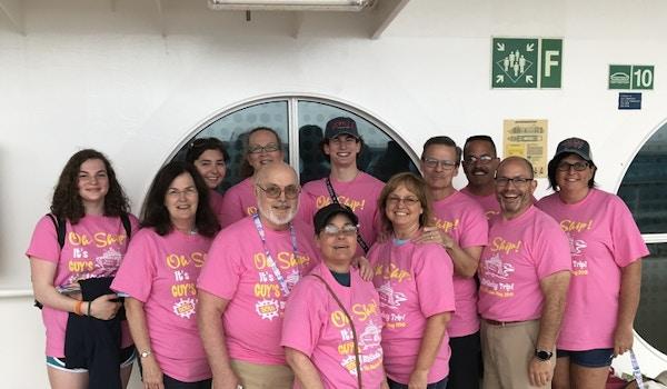 Guy's 50th Birthday Trip T-Shirt Photo