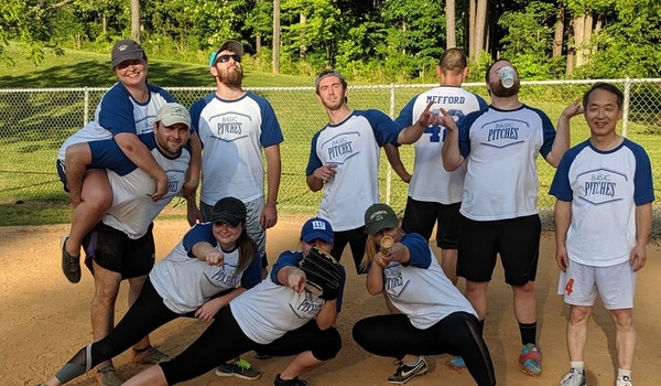Basic Pitches Take The Field! T-Shirt Photo