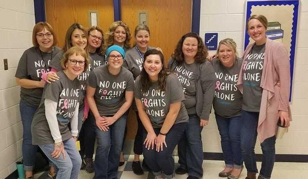 Teachers Showing Support T-Shirt Photo