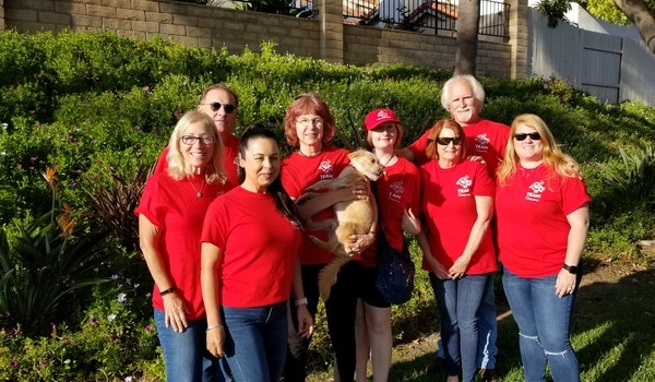 Some Of Team Cheyenne Members At A Park T-Shirt Photo