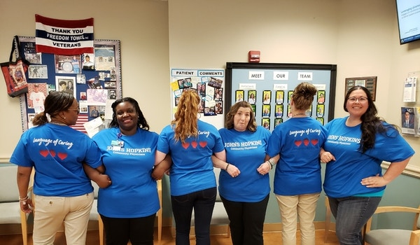 Johns Hopkins Loc T-Shirt Photo