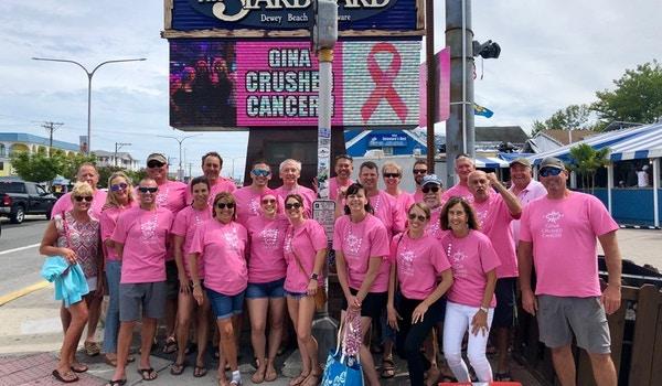 Gina Crushed Cancer! T-Shirt Photo