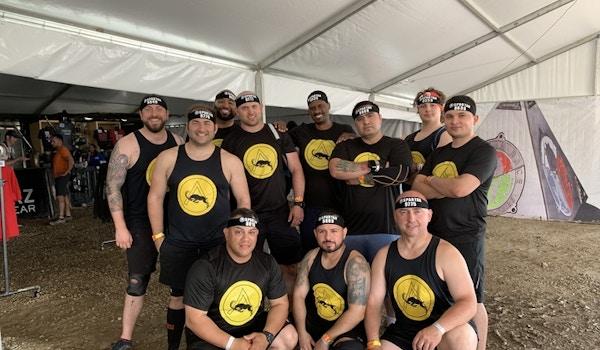 The Goat   Spartan Super Team T-Shirt Photo