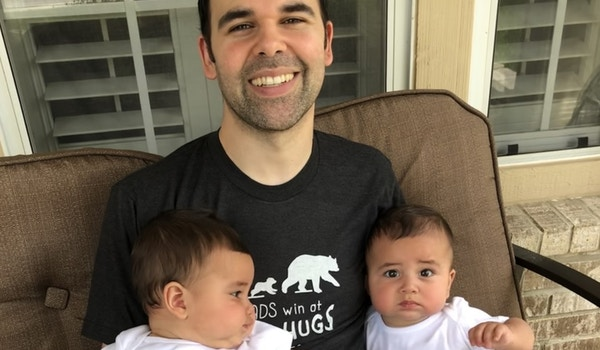 First Father's Day  T-Shirt Photo