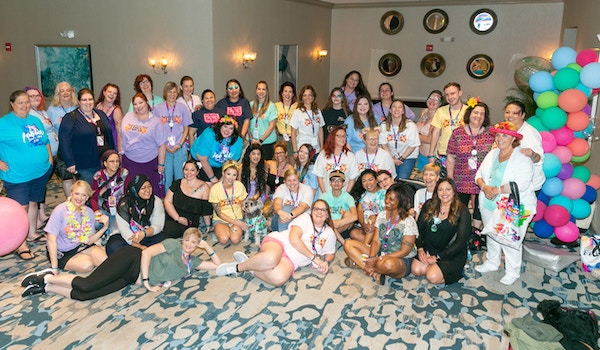 Inspiration To Paint Family At The Face & Body Art International Convention T-Shirt Photo