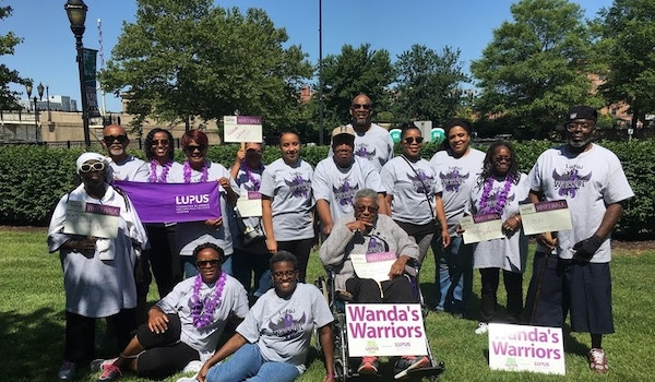 Walk To End Lupus/Delaware   Tri State Chapter T-Shirt Photo