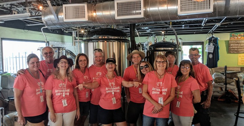Brew Club Brewery Invasion T-Shirt Photo