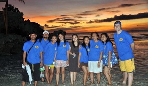 At The Beach T-Shirt Photo