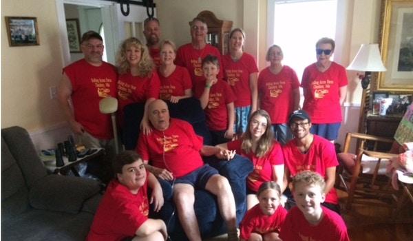 Rolling Acres Farm Family Photo T-Shirt Photo