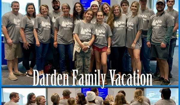 Darden Family Vacation Wy & Mt T-Shirt Photo