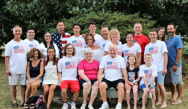 Forth Of July Family Fun Reunion T-Shirt Photo