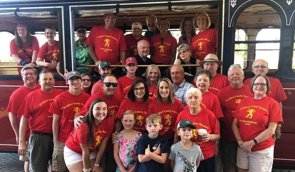 Off On The Fredericksburg Virginia Trolley Tour T-Shirt Photo