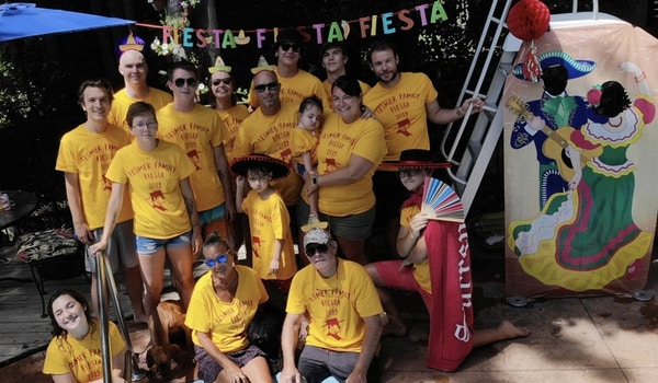 The Tesmer Family Fiesta T-Shirt Photo