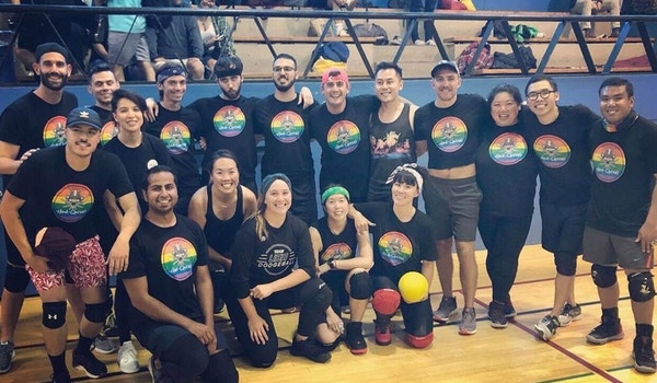 Hara Queeri, A Dodgeball Team Of Rainbow Warriors T-Shirt Photo