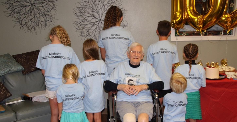 Dick's Great Grandchildren T-Shirt Photo
