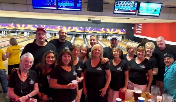 Bowling For Lifeline For Children With The Savannah Area Realtors T-Shirt Photo