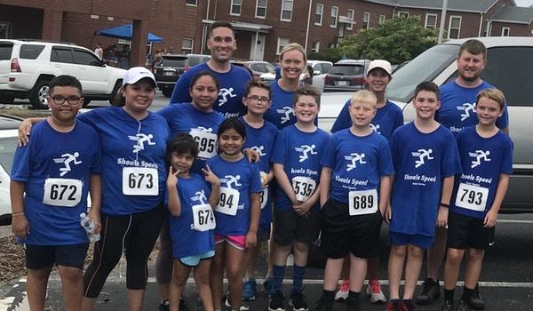 Shoals Speed Family Run Group T-Shirt Photo