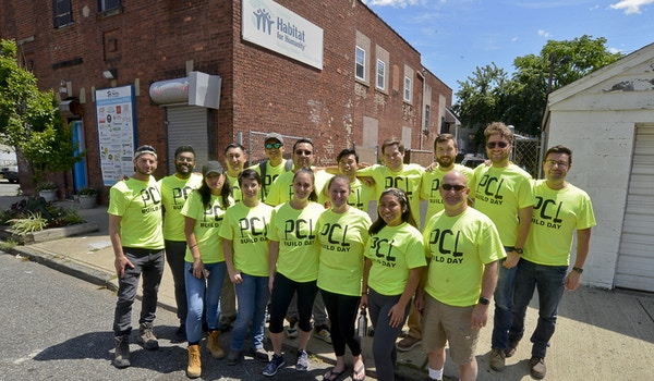 Pcl Takes On Habitat For Humanity T-Shirt Photo