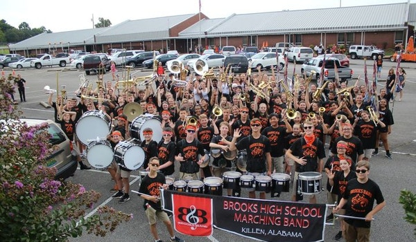 Bhs Band Excited To Show Off Their New Band Shirts T-Shirt Photo