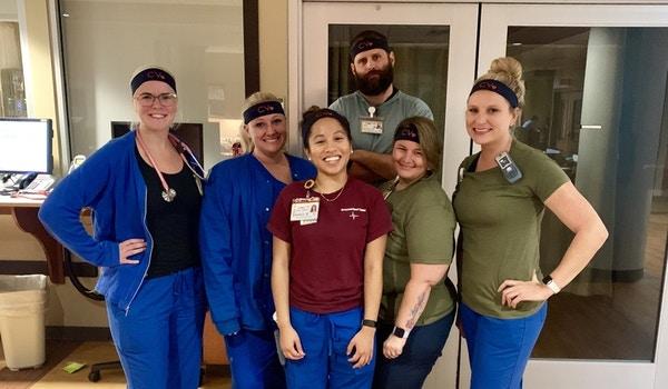 Nurse Headbands!  T-Shirt Photo