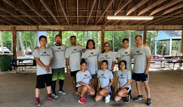 Volleyball Champs T-Shirt Photo