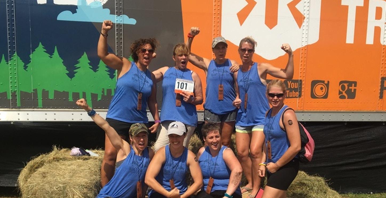 Ragnar Trail Team   Mom's Time Out T-Shirt Photo