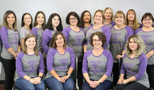 Dorothy Hall Elementary Staff Picture T-Shirt Photo