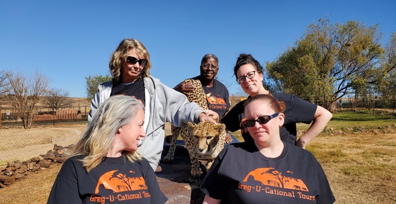 Greg U Cational Tour Of South Africa T-Shirt Photo