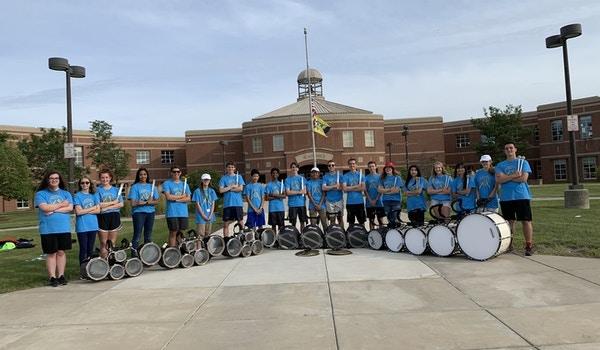 Neuqua Valley Hs Drumline! T-Shirt Photo