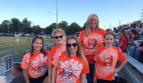 Drum Line Family T-Shirt Photo