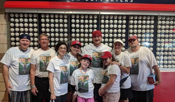 Dipg Awareness Day At Nationals Park T-Shirt Photo