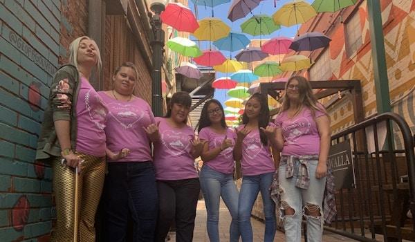 Raining Girl Scouts T-Shirt Photo