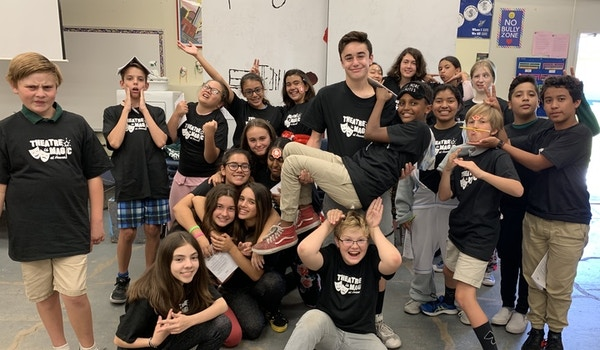 Hoover Middle School Drama Shows Off Their Shirts! Fresh Out Of The Box (Both The Shirts And The Kids)! T-Shirt Photo