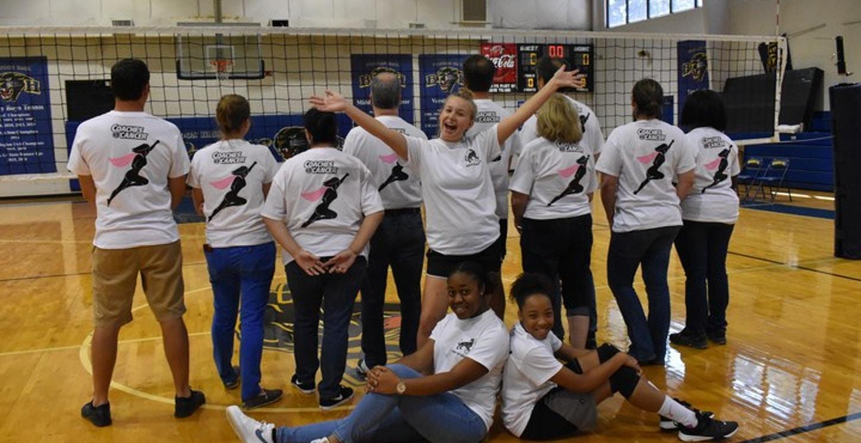 Brandon Hall Volleyball Coaches Vs. Cancer Fundraiser  T-Shirt Photo