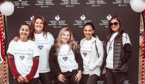 2019 Heart Walk Team Shvma T-Shirt Photo