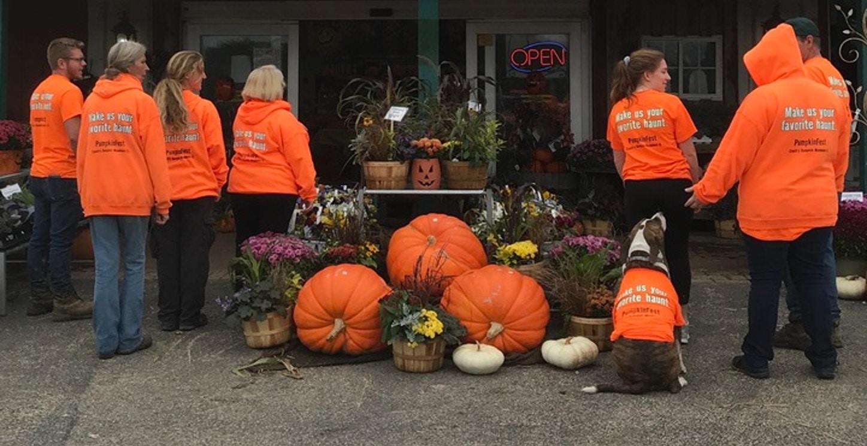 The Pumpkin Crew T-Shirt Photo