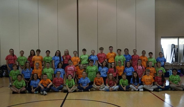 St. Peter Sporting Their House Shirts!  T-Shirt Photo