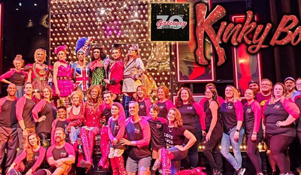 Gateway Playhouse Kinky Boots Company T-Shirt Photo